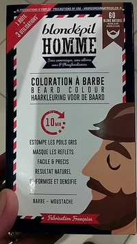 Blondépil - Homme - Coloration à barbe 60 Blond naturel