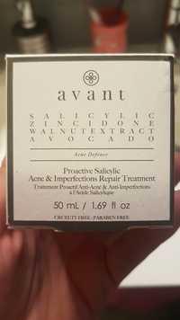 AVANT - Traitement proactif anti-acné & anti-imperfections à l'acide salicylique