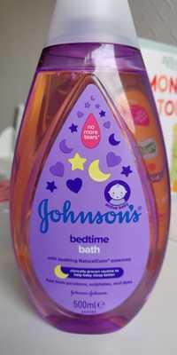 Johnson's - Baby - Bedtime bath