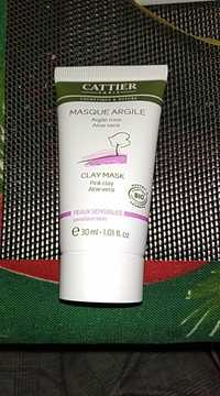 Cattier - Masque argile rose aloe vera bio