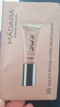 Mádara - SOS Eye revive hydra cream & mask