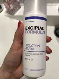 GALDERMA - Excipial formulae - Lipolotion neutra
