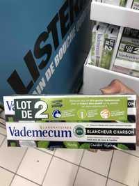 VADEMECUM - Blancheur charbon - Dentifrice