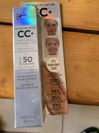 IT COSMETICS - Your skin but better - CC+ SPF 50
