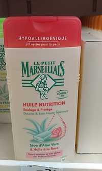 LE PETIT MARSEILLAIS - Huile nutrition - Douche & bain haute tolérance