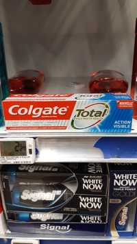 Colgate - Total action visible - Dentifrice au fluor