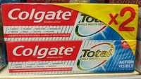 COLGATE - Total action visible - Dentifrice au Fluor