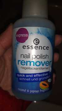 Essence - Quick and effective - Nail polish remover