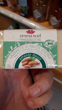 EMMA NOËL - Amande douce - Savonnette de toilette végétale