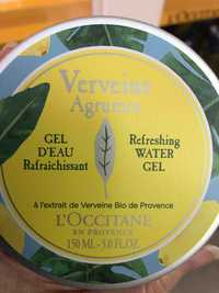 L'OCCITANE - Verveine agrumes - Gel d'eau rafraîchissant