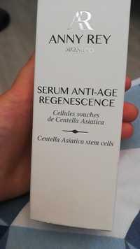 Anne Rey - Sérum anti-age regenescence