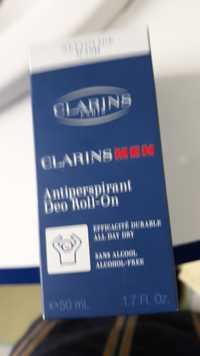Clarins - Men - Antiperpirant déo roll-on