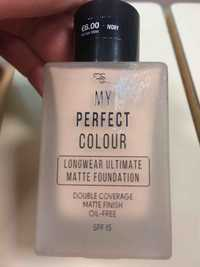 Primark - My perfect colour - Double coverage matte foundation ivory SPF 15