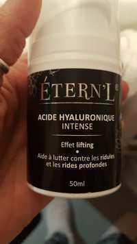 Étern'L - Acide hyaluronique intense - Aide à lutter contre les les ridules et les rides profondes