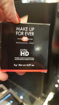 Make up for ever - Ultra HD - Poudre compacte