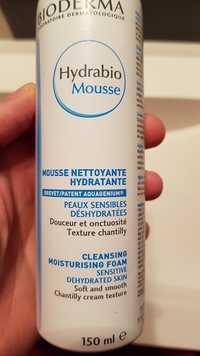 Bioderma - Hydrabio mousse - Mousse nettoyante hydratante