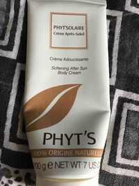 Phyt's - Phyt'solaire - Crème adoucissante après-soleil