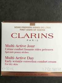 CLARINS - Multi-Active Jour - Crème confort lissante rides précoces
