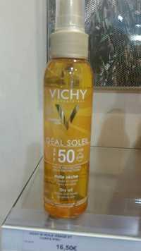 VICHY - Idéal Soleil - Huile protection visage et corps