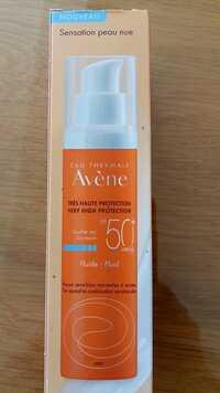 Avène - Fluide antioxidant Très haute protection SPF 50+