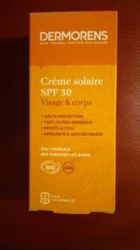 DERMORENS - Crème solaire SPF 30 - Visage & corps