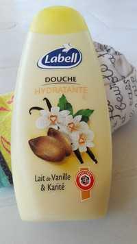LABELL - Lait de Vanille & Karité - Douche hydratante