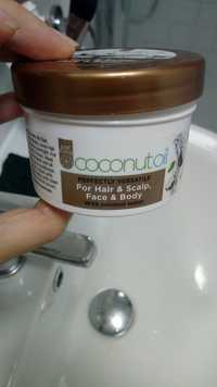 JUST COCO - Coconut oil - Perfectly versatile for hair & scalp