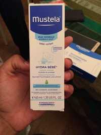 Mustela - Hydra bébé - Crème visage bébé et enfant