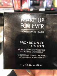 Make up for ever - Pro bronze fusion - Bronzer compact imperceptible