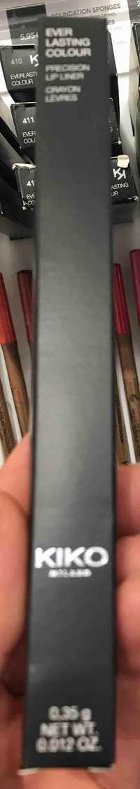 Kiko - Everlasting colour - Crayon lèvres