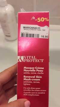 MARIONNAUD - Vital & protect - Masque-crème