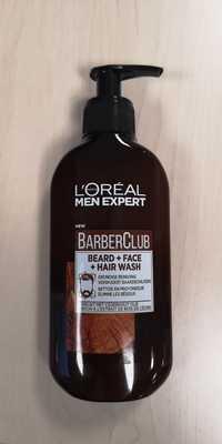 L'ORÉAL - Men Expert BarberClub - Beard + face + hair wash