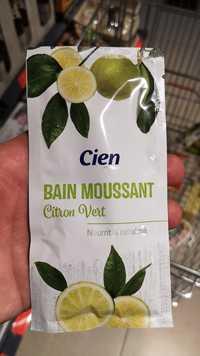 CIEN - Bain moussant - Citron vert - Nourrit & rafraîchit