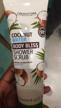 CREIGHTONS - Coconut water - Body bliss Shower scrub