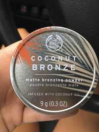 THE BODY SHOP - Coconut bronze - Poudre bronzante mate