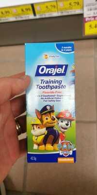 ORAJEL - Training toothpaste fruity fun
