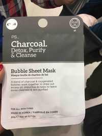 Primark - PS... Charcoal - Masque feuille de charbon de boi
