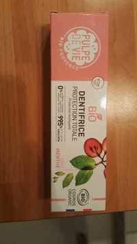 Pulpe de vie - Bio - Dentifrice protection totale goût menthe