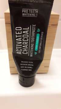 Pro Teeth Whitening Co - Activated charcoal - Whitening toothpaste mint flavour
