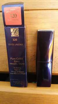 Estee Lauder - Pure color envy metallic matte - Rouge sculptant