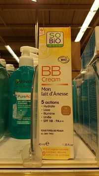 So'Bio étic - Mon lait d'Ânesse
