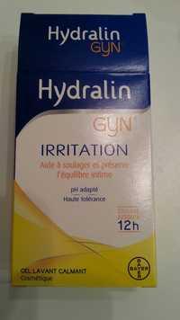 Hydralin - Gyn irritation - Aide à soulager et préserve l'équilibre intime