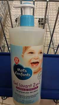 MOTS D'ENFANTS - Gel lavant 2 en 1 corps & cheveux
