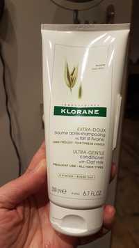KLORANE - Lait d'Avoine - Baume après-shampooing