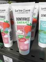 LA VIE CLAIRE - Dentifrice enfant à l'extrait de fraise