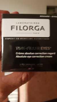 Filorga - Time-filler eyes - Crème absolute correction regard