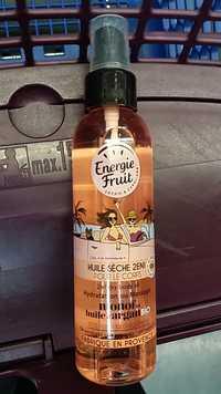 Energie Fruit - Monoï et huile d'argan bio