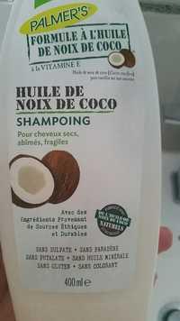 PALMER'S - Huile de noix de coco - Shampooing
