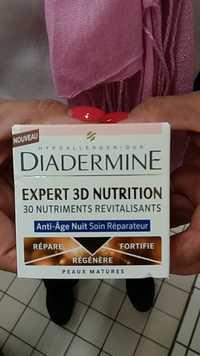 Diadermine - Expert 3D nutrition Anti-Âge Nuit Soin Réparateur