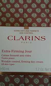 CLARINS - Crème fermeté anti-rides